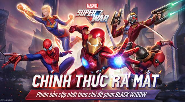 MARVEL Super War VN ra mắt, đăng nhập 7 ngày nhận ngay Iron Man