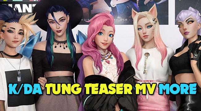 LMHT: K/DA nhá hàng MV mới, đón chào sự ra mắt của Seraphine