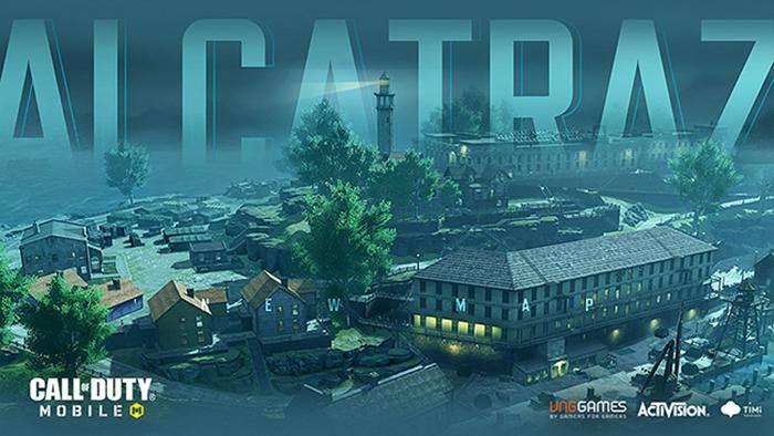 Alcatraz – bản đồ Battle Royale mới, đáp ứng mong đợi của game thủ Call of Duty: Mobile VN