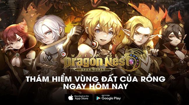 World of Dragon Nest – Bom tấn từ Eyedentity và Nexon đã sẵn sàng cho game thủ Việt khám phá