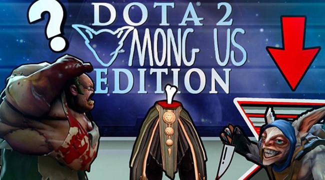 Hai Youtuber người Nga gây bão cộng đồng Dota2 với bản mod theo phong cách Among Us