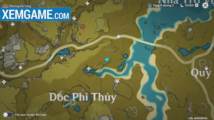 Vị trí trên bản đồ