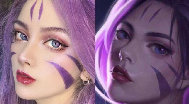 LMHT: Choáng ngợp trước vẻ đẹp sắc sảo của cosplay Kai'Sa