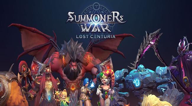 Summoners War: Lost Centuria mở trang chủ, chuẩn bị thử nghiệm Close Beta