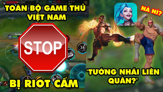 LMHT Tốc Chiến 24h: Riot bất ngờ cấm cửa Việt Nam – Game thủ Liên Quân chỉ ra 2 tướng đạo nhái