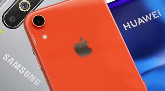 """Apple bị các hãng mới nổi """"hất cẳng"""" khỏi top 5 Smartphone tại Việt Nam"""