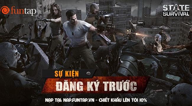 Game thủ Việt hào hứng đăng ký trước State of Survival