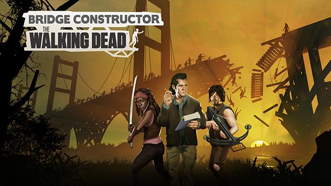 Bridge Constructor: The Walking Dead – xây cầu tránh zombie