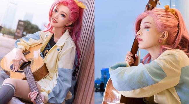 LMHT: Lụi tim với cosplay Seraphine đầy trong sáng