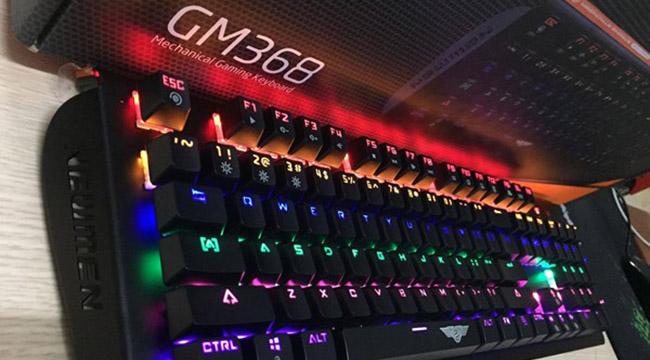 Bàn phím Cơ NEWMEN GM368 – siêu bền, siêu chắc và là trợ thủ đắc lực game thủ