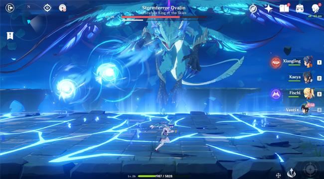Genshin Impact: Hướng dẫn đánh bại Stormterror Dvalin – Phong Ma Long
