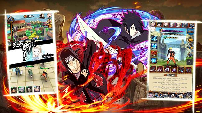Thời Đại Ninja – sự cách tân cho thế giới ninja nhờ lối chơi màn hình dọc