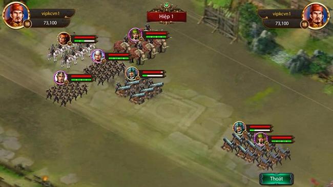 Thành Chiến Mobile cũng tập trung khai phá mạnh tính chiến thuật của game