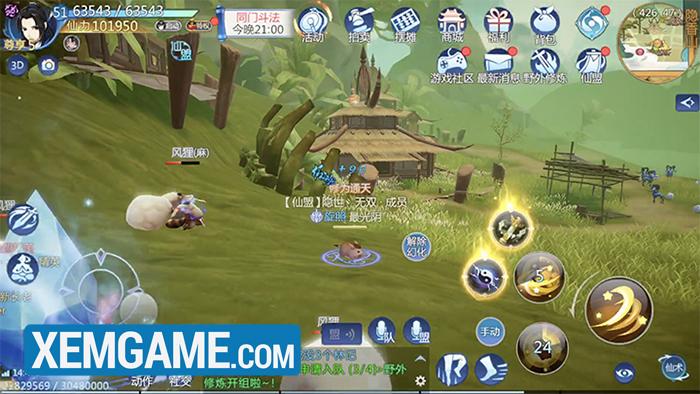 Tiên Kiếm Mobile   XEMGAME.COM