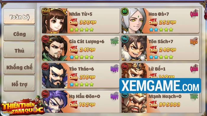 Thiên Thiên Tam Quốc | XEMGAME.COM
