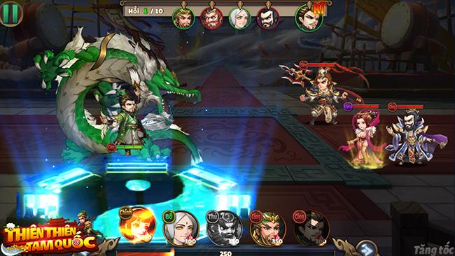 Thiên Thiên Tam Quốc – game thẻ tướng 3Q chibi chuẩn bị trình làng