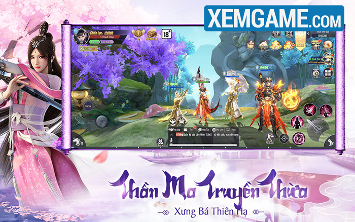 Thương Khung Chi Kiếm Funtap | XEMGAME.COM