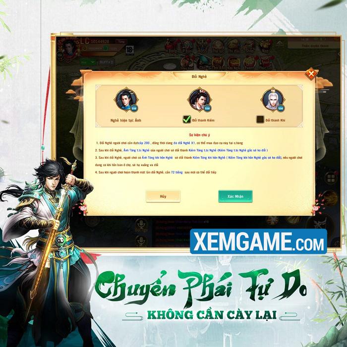 Phong Vân Chí VTC | XEMGAME.COM
