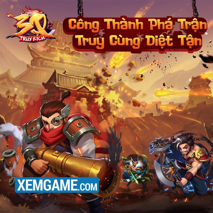 3Q Truy Kích | XEMGAME.COM