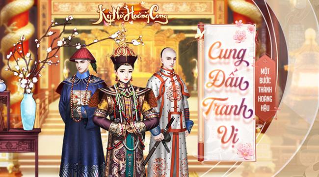 Kỳ Nữ Hoàng Cung Funtap – game cung đấu ngôn tình sắp ra mắt