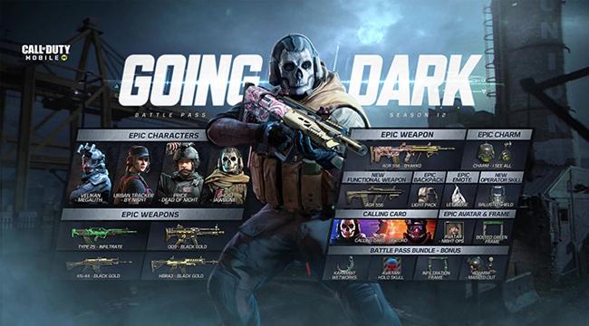 Call of Duty: Mobile VN – Dàn nhân vật huyền thoại đổ bộ phiên bản Going Dark