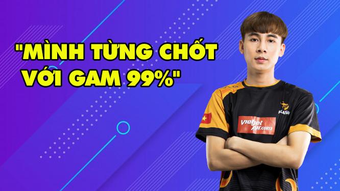 """LMHT: Divkid chính thức gia nhập Team Flash, tiết lộ từng  """"99% vào GAM"""""""