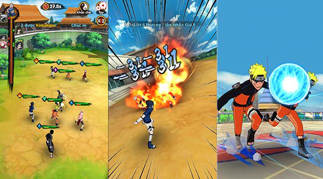 Trải nghiệm Thời Đại Ninja – vừa chơi game vừa đọc manga Naruto cực thú vị