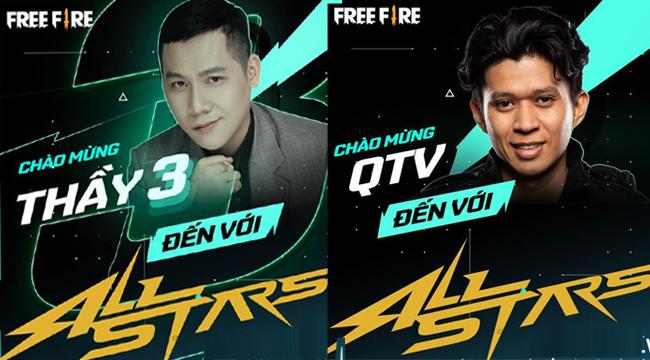 Fire Fire Allstar bất ngờ công bố sự tham gia của Thầy Giáo Ba và QTV