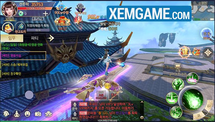 Ngạo Kiếm Thanh Vân | XEMGAME.COM