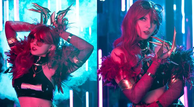 LMHT: Vẻ đẹp ma mị đầy quyến rũ của cosplay Evelynn KDA
