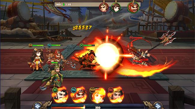 Trải nghiệm Thiên Thiên Tam Quốc: 3Q đấu tướng chibi và có ủy thác cho người bận rộn