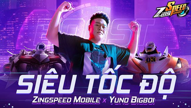 ZingSpeed Mobile hợp tác cùng Yuno BigBoi ra mắt MV Siêu Tốc Độ