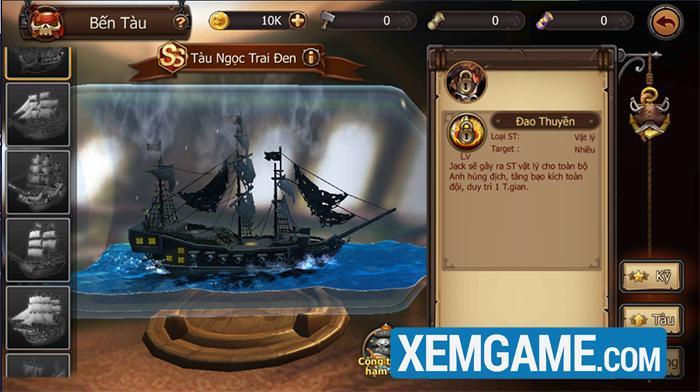 Trải nghiệm Hải Tặc Tốc Chiến - đấu tướng hải tặc siêu hài hước