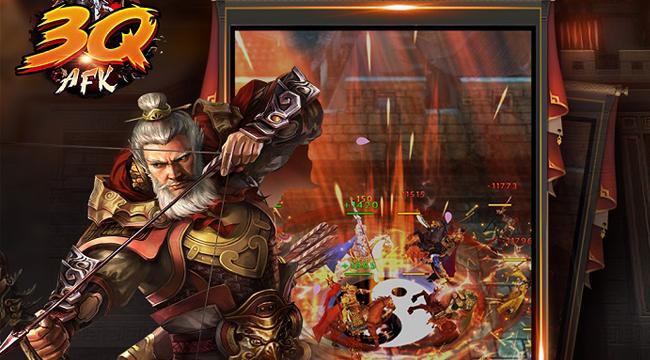 3Q AFK mobile – game Tam Quốc mới mẻ chính thức thử nghiệm