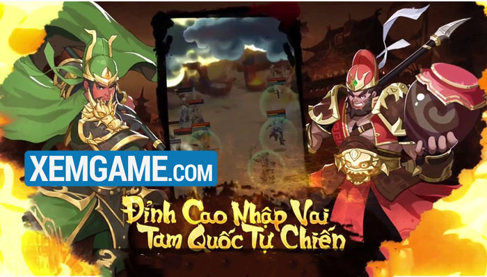 AFK 3Q Đế Vương Thiên Hạ   XEMGAME.COM