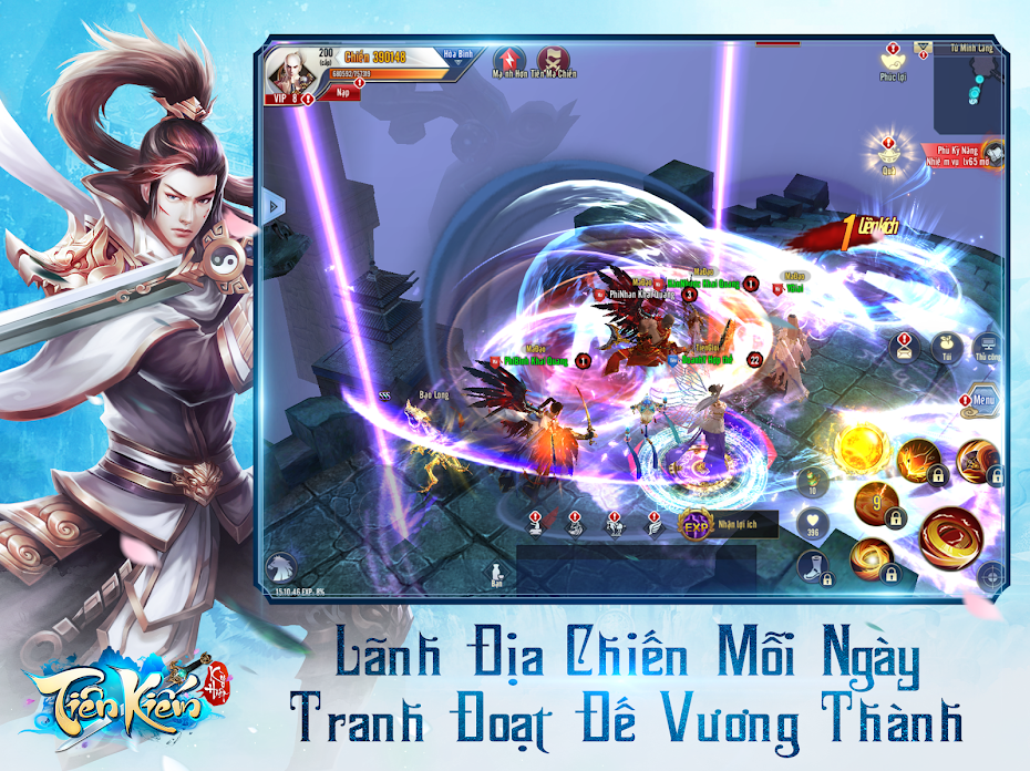 Tiên Kiếm Kỳ Hiệp SohaGame   XEMGAME.COM