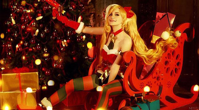 LMHT: Sưởi ấm mùa đông với cosplay Jinx Yêu Tinh Giáng Sinh đầy ấm áp