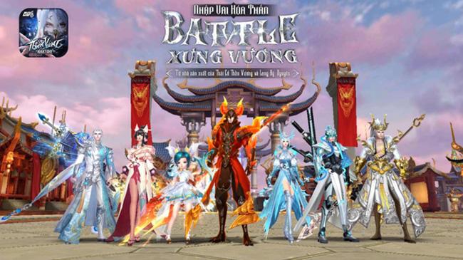 Thần Vương Nhất Thế VTC – game nhập vai hóa thần định ngày ra mắt