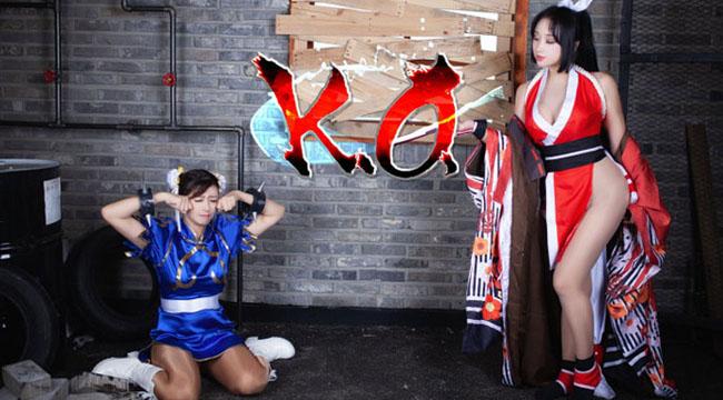 Bỏng mắt với màn đọ sắc đầy nóng bỏng giữa Mai Shiranui và Chun-li