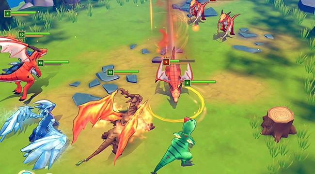 Trải nghiệm Dragon Tamer – trở thành chúa rồng huyền thoại