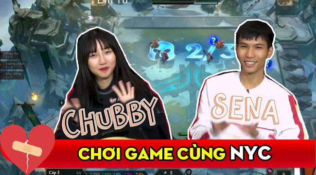"""Sena làm content """"chơi game cùng người yêu cũ"""", """"gương vỡ lại lành"""" với Chubby?"""