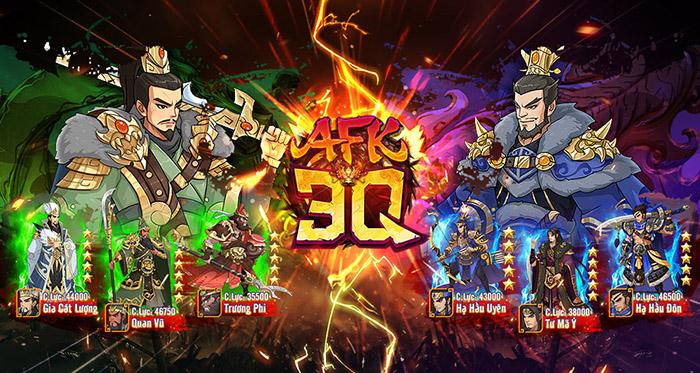 AFK 3Q – Đế Vương Thiên Hạ bùng nổ ngày ra mắt 07/01/2021
