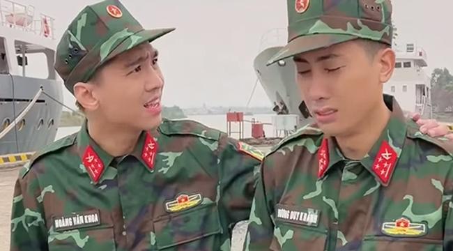 PewPew xuất hiện tươi tắn trong màu áo lính, nghi vấn tham gia Sao Nhập Ngũ