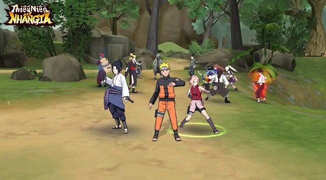Thiếu Niên Nhẫn Giả mobile – lại thêm một game lấy đề tài Naruto chuẩn bị cập bến VN