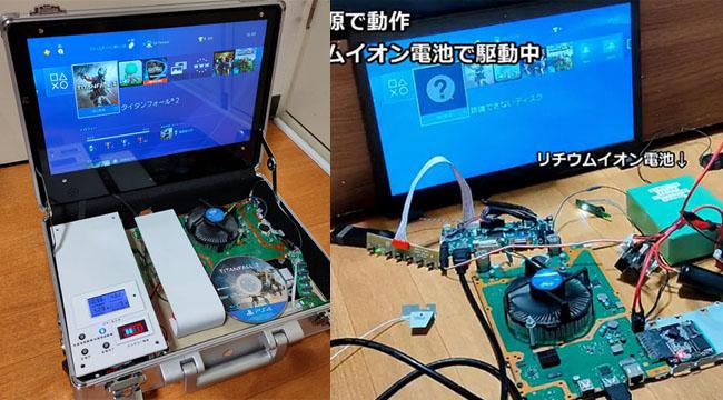 Kỹ sư Nhật Bản dành 10 tháng để lắp ráp Vali Play Station 4