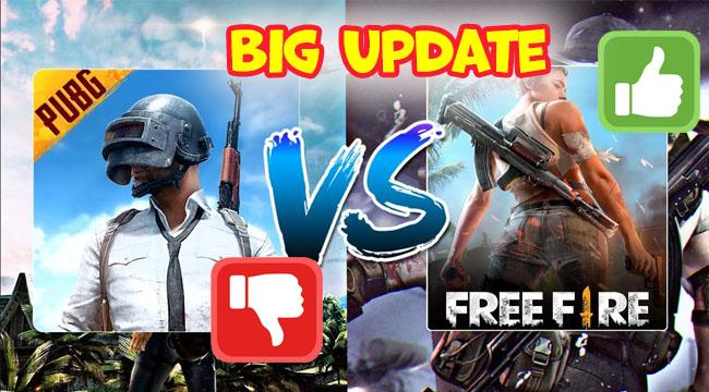 PUBG Mobile gây tranh cãi với Big Update, game thủ Free Fire tranh thủ cà khịa