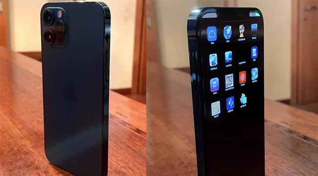 Lộ diện iPhone 12 Pro phiên bản thử nghiệm đắt đỏ với giao diện đặc biệt
