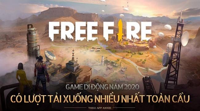 Thua doanh thu, Free Fire vẫn vượt PUBG Mobile để trở thành tựa game được tải nhiều nhất năm 2020