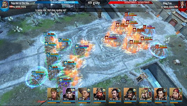 Trải nghiệm Tam Quốc Liên Minh – đồ họa ấn tượng, chiến trường liên server nhiều chỗ để vẫy vùng