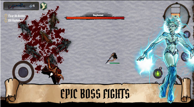 Demon Realms – game bắn súng top down diệt quỷ giải trí